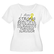 Ewings Sarcoma Strong Survivor T-Shirt