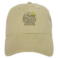 Ewings Sarcoma Strong Survivor Baseball Cap