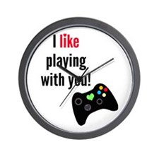 Playing with You Wall Clock
