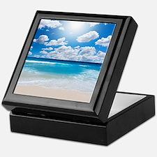 Sunny Beach Keepsake Box