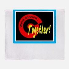 So Good Toegether/Reba McEntire/t-shirt Throw Blan