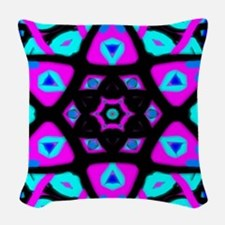Star Seeds Woven Throw Pillow