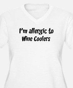Allergic to Wine Coolers T-Shirt