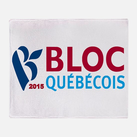 Bloc Quebecois 2015 Throw Blanket