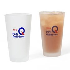 Parti Quebecois 2015 Drinking Glass