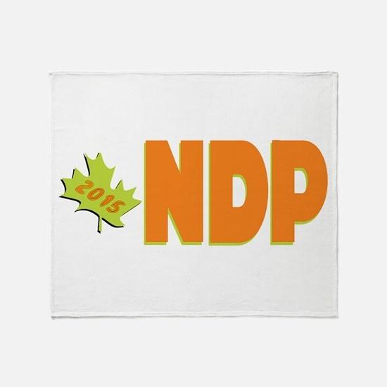 NDP 2015 Throw Blanket