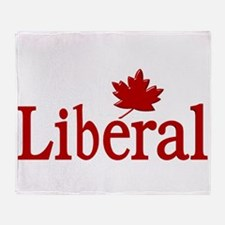 Liberal Party Of Canada Throw Blanket