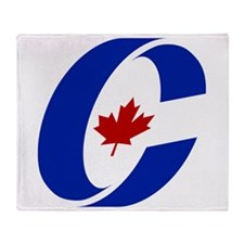 Conservative Party Of Canada Throw Blanket