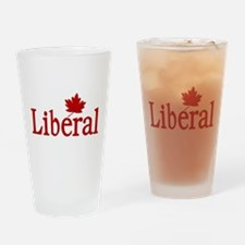 Liberal Party of Canada Drinking Glass