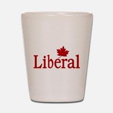 Liberal Party of Canada Shot Glass