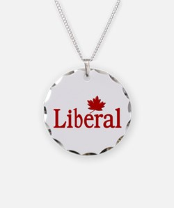 Liberal Party Of Canada Necklace