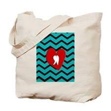 Dental Chevron 4 Tote Bag