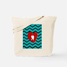 Dental Chevron 4 Tote Bag