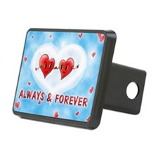 Always and Forever Two Hea Hitch Cover