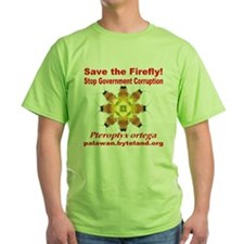 Save The Firefly Stop Government Corruption T-Shirt