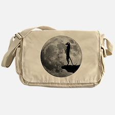 meerkat erdmännchen mond moon Messenger Bag