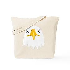 bald eagle adler kopf head Tote Bag