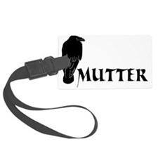 rabenvater rabe vater papa papi  Luggage Tag