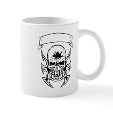 Hole In Head Skull Mugs