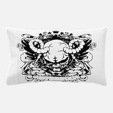 Demon Skull Pillow Case