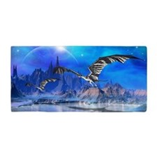 Fantasy Dragons Beach Towel