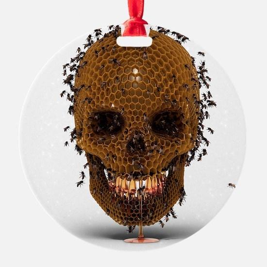 Skull Hive Ornament