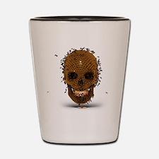 Skull Hive Shot Glass