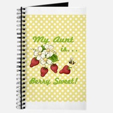 Berry Sweet Aunt Journal