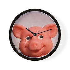 Cute Portrait charm Wall Clock