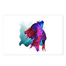 fish Postcards (Package of 8)