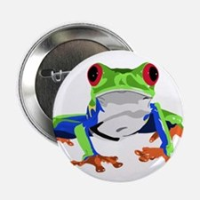 """Frog 2.25"""" Button (10 pack)"""