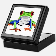 Frog Keepsake Box