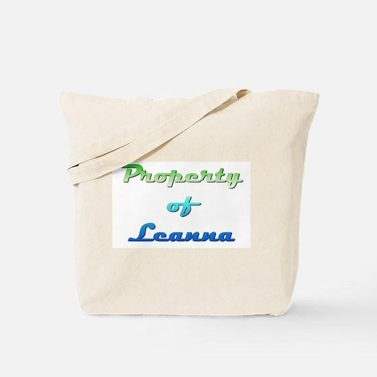 Property Of Leanna Female Tote Bag