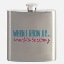 When I grow up I want to be skinny! Flask