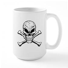Evil Skull And Crossbones Mugs