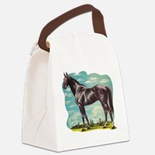 Heroic Horse Canvas Lunch Bag