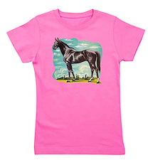 Heroic Horse Girl's Tee