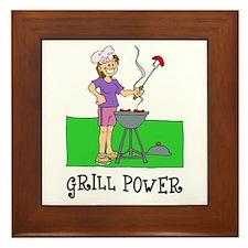 Grill Power Framed Tile