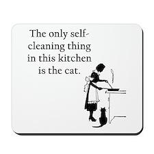 Kitchen Cat Mousepad