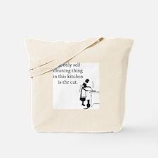 Kitchen Cat Tote Bag