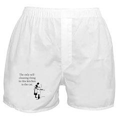 Kitchen Cat Boxer Shorts