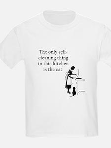 Kitchen Cat T-Shirt