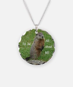 Groundhog Day Necklace