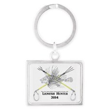 Lionfish Hunter Skeleton 2014 Landscape Keychain