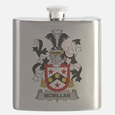 McMillan Family Crest Flask
