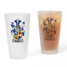 McNeill Family Crest Drinking Glass