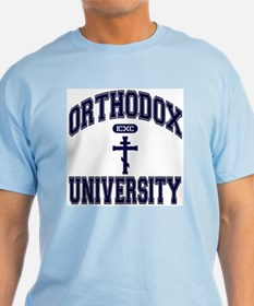 Orthodox University ICXC 2 T-Shirt