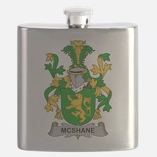 McShane Family Crest Flask