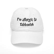 Allergic to Tabbouleh Baseball Cap