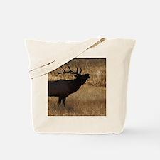 elk bugling Tote Bag